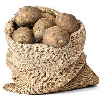 Заказать мешок картофеля через интернет, доставка картофеля